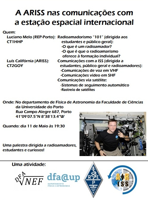 2016 Palestra ARISS - REP Porto